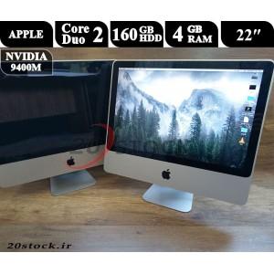 کامپیوتر استوک همه کاره 22 اینچی اپل مدل Apple-imac Late 2009 گرافیک دار با قیمت مناسب