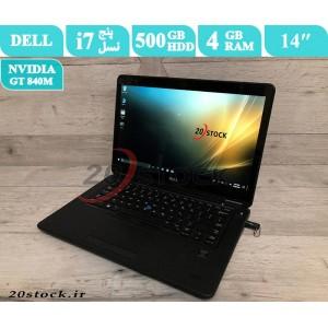 لپ تاپ استوک Dell مدل Latitude E7450 با پردازنده اینتلCore i7 و کارت گرافیک مجزای انویدیا