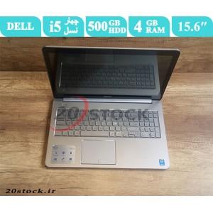 لپ تاپ اسنوک Dell مدل  inspiron 7537 با پردازنده Core i5