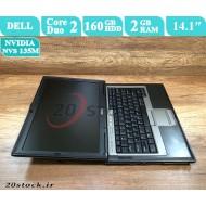 لپ تاپ استوک Dell مدل Latitude D630 با کارت گرافیک مجزای انویدیا و قیمت مناسب