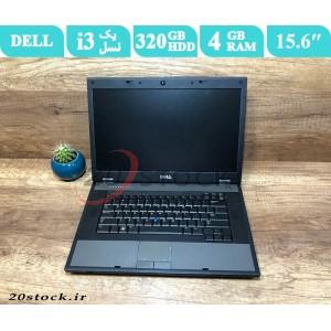 لپ تاپ استوک Dell مدل Latitude E5510 با پردازنده اینتل Core i3