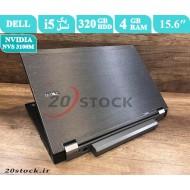لپ تاپ استوک Dell مدل Latitude E6510 با پردازنده اینتل Core i5 و کارت گرافیک مجزای انویدیا