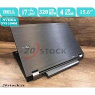 لپ تاپ استوک Dell مدل Latitude E6510 با پردازنده Core i7 و کارت گرافیک انویدیا