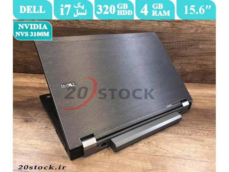 لپ تاپ DELL E6510 با پردازنده i7 گرافیک دار-فروشگاه بیست استوک