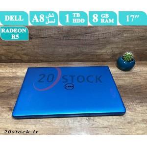 لپ تاپ استوک Dell مدل Inspiron 5755 با پردازنده AMD و صفحه نمایش فول اچ دی