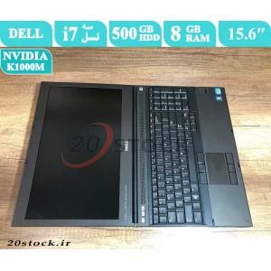 لپ تاپ استوک  Dell مدل  precision M4700 با پردازنده اینتل Core i7 و کارت گرافیک مجزای انویدیا