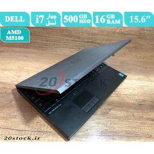 لپ تاپ استوک Dell مدل Precision M4800 با کارت گرافیک AMD و صفحه نمایش Full HD