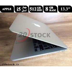 لپ تاپ استوک اپل مکبوک پرو مدل Apple-Macbook Pro A1502 با پردازنده i5 شرکت اینتل و حافظه داخلی پرسرعت SSD