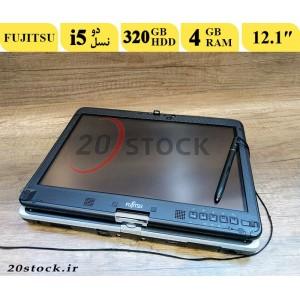 لپ تاپ استوک Fujitsu مدل lifebook T731 لمسی و قلم دار