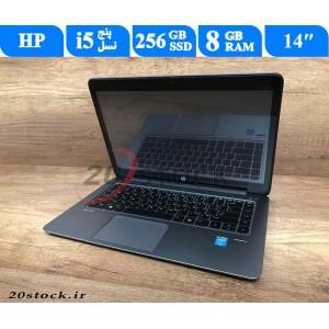 لپ تاپ استوکHP مدل Elitebook folio 1040 G2 با پردازنده نسل 5 و نمایشگر لمسی