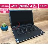 لپ تاپ استوک Lenovo مدل 15 Thinkpad Edge با پردازنده AMD