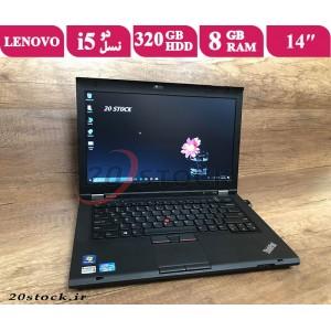 لپ تاپ استوک Lenovo  مدل ThinkpadT430 با پردازنده نسل Core i5