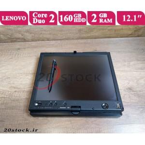 لپ تاپ استوک Lenovo مدل Thinkpad X61 دارای صفحه نمایش لمسی چرخشی و قلم دار